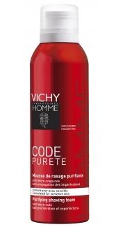 Mousse à raser Code Pureté de Vichy