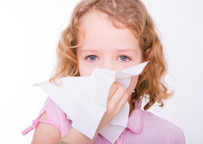 Le rhume est une pathologie fréquente chez l'enfant