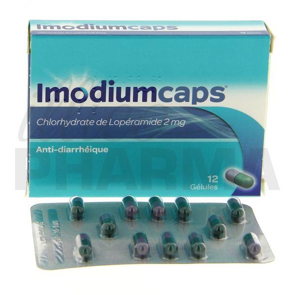 ImodiumCaps contre les diarrhée