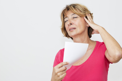 Le phénomène de bouffée de chaleur survient généralement auprès des femmes ménopausées