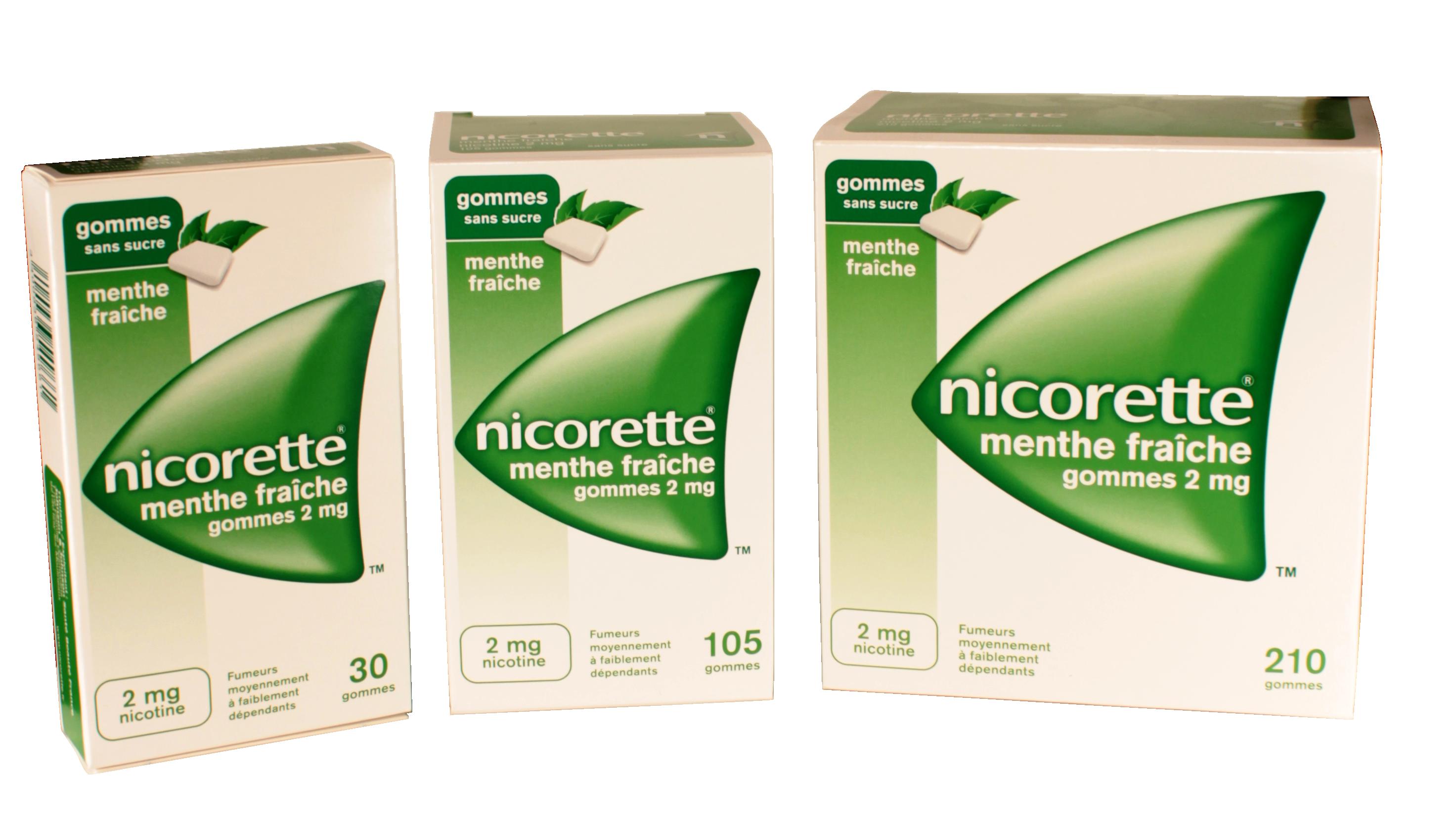 Nicorette pour vous aider à arrêter de fumer