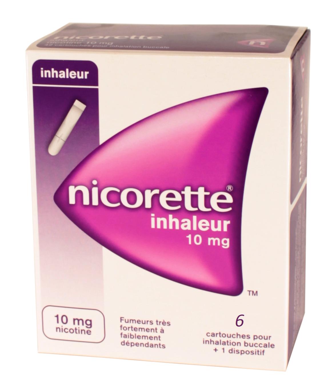 Nicorette inhaleur pour arrêter de fumer