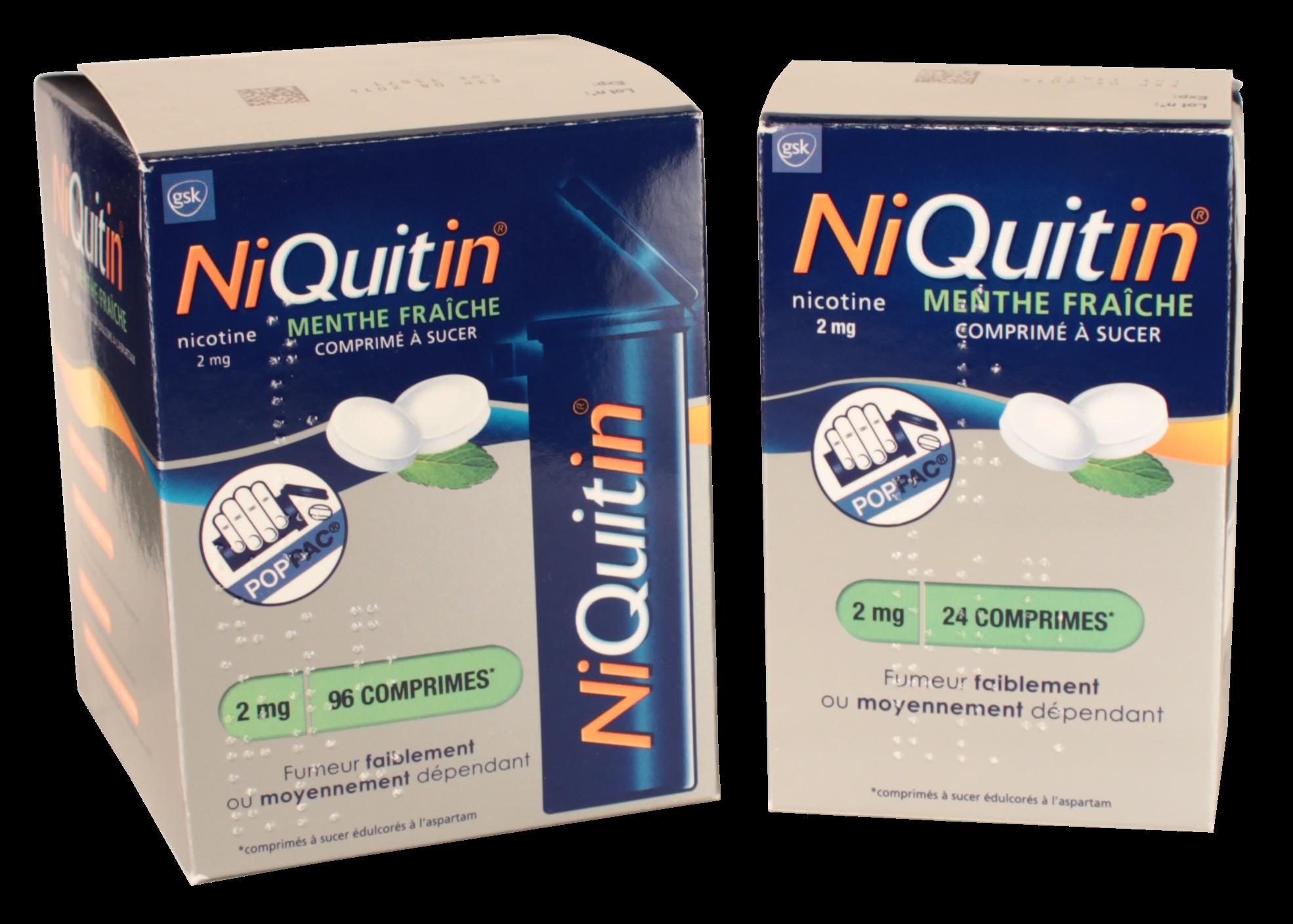 Niquitin pour vous aider à arrêter de fumer