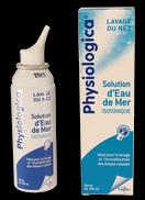 Le physiologica lave efficacement le nez pour lutter contre le rhume