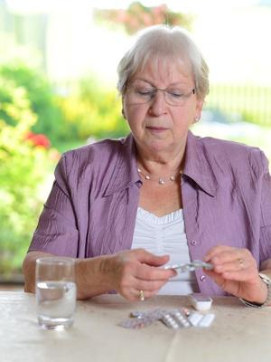 Arthrose chez les personnes âgées