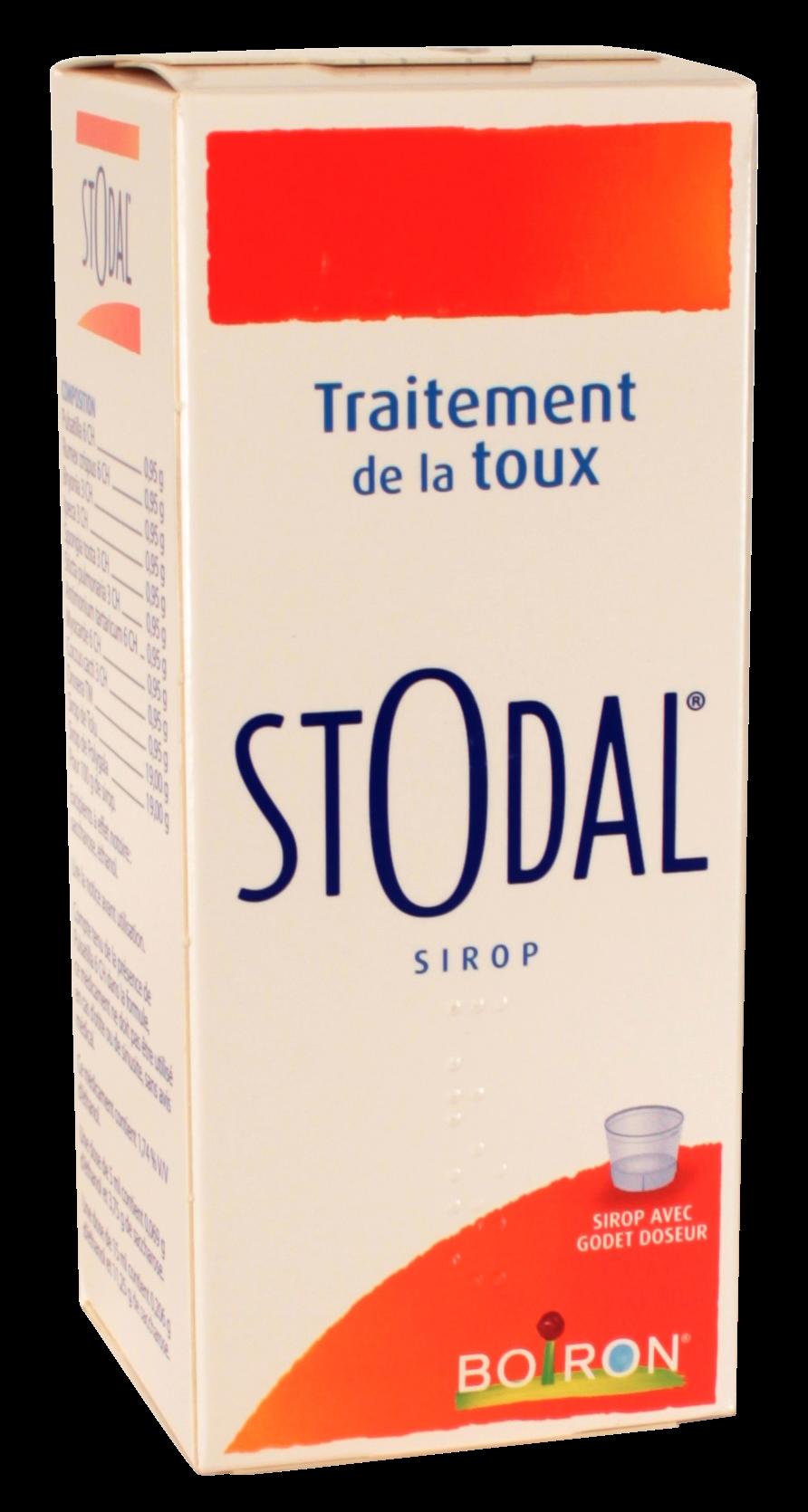 Le sirop Stodal est un traitement homéopathique contre la toux grasse