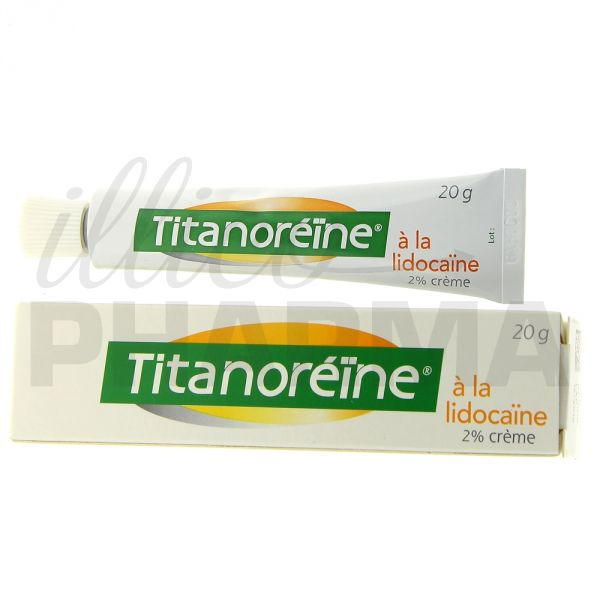 Titanoréine contre les hémorroides