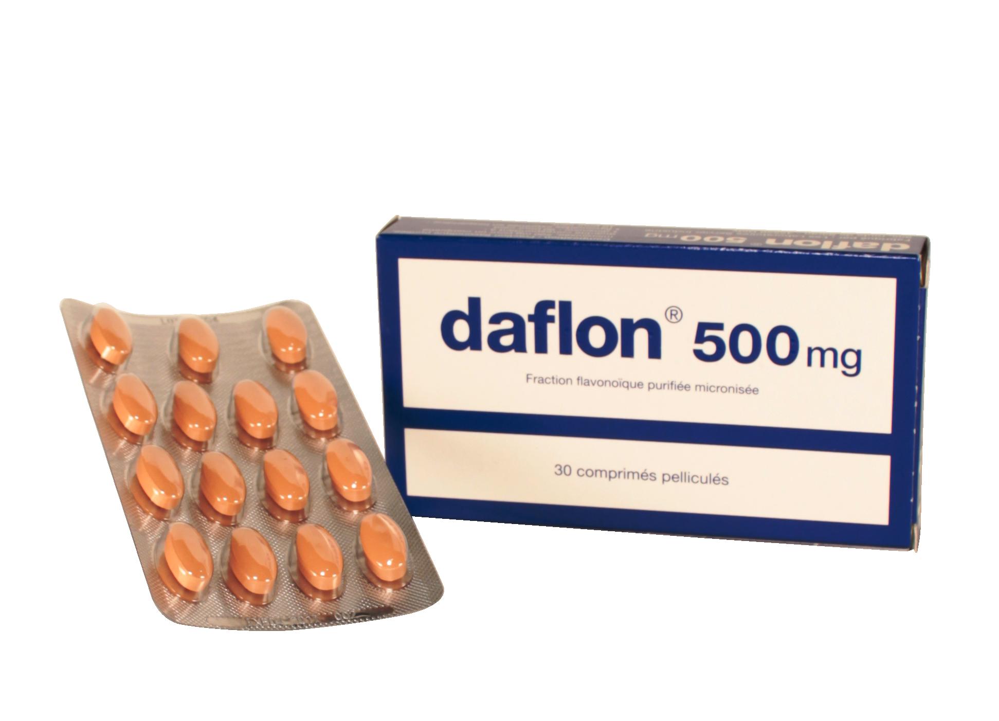 Prix de Daflon 500 mg x 30 - Les laboratoires Servier