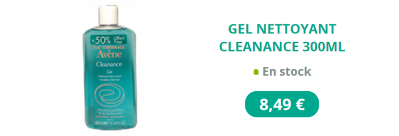Gel nettoyant Avène 300ml